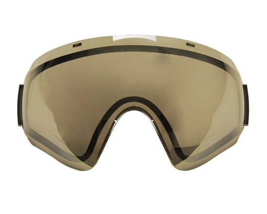 V-Force Dual Pane Anti-Fog Ballistic Rated Thermal Lens For Profiler Masks (Mirror Gold)