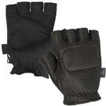 28650 V-Tac Half Finger Gloves With Padded Back Hand Protection Small