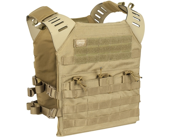 Valken Airsoft Tactical Plate Carrier - II XL- Tan