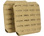 Valken Airsoft Tactical Plate Carrier - LC Side Panels - Tan (2-Pack)