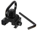Warrior Airsoft 20mm Rail Mount - Quick Disconnect Detachable Sling
