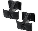Warrior Rifle Magazine 2-Pack Couplers - M4/M16 - Black