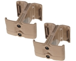 Warrior Rifle Magazine 2-Pack Couplers - M4/M16 - Tan