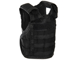 Warrior Bottle Coozie - Tactical Vest - Black