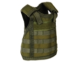 Warrior Bottle Coozie - Tactical Vest - Olive