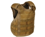 Warrior Bottle Coozie - Tactical Vest - Tan
