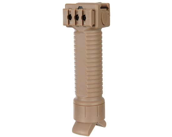 Warrior Tactical Edition Foregrips w/ Retractable Bipod - Tan