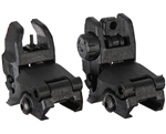 Warrior Front & Rear Flip Up Airsoft Sights