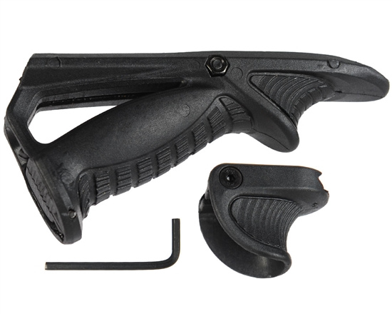 Warrior Tactical Angled Foregrip & Support Kit - Black