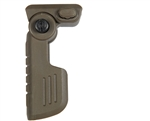 Warrior Tactical Quick Detach Folding Foregrip - Olive