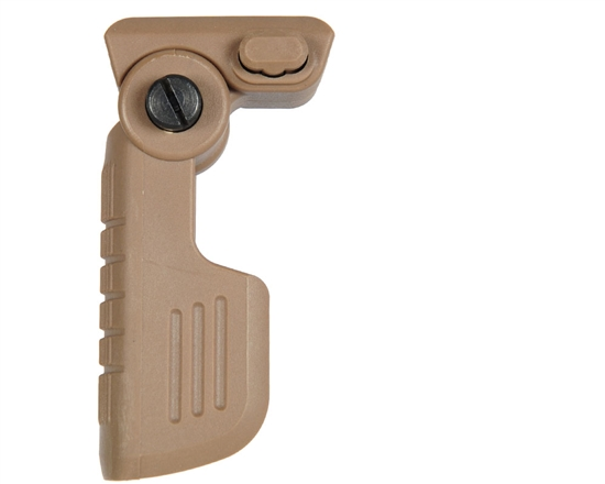 Warrior Tactical Quick Detach Folding Foregrip - Tan