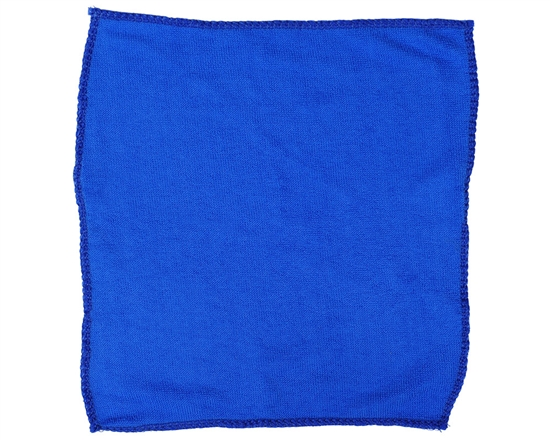 "Warrior Microfiber Mask Cloth - 12"" x 12"" - Blue"