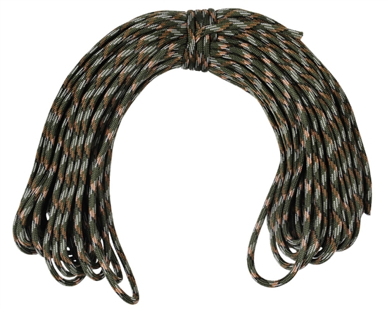 Warrior Tactical 100ft Paracord (7-Strand) - Asian Tiger