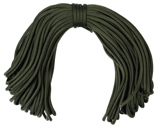 Warrior Tactical 100ft Paracord (7-Strand) - Olive