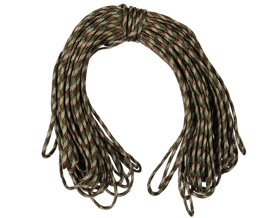 Warrior Tactical 100ft Paracord (7-Strand) - Tiger Stripe
