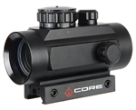 Warrior Airsoft Sight - Red Dot 1x40mm
