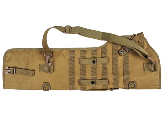Warrior Tactical Shotgun Scabbard Airsoft Case - Tan