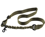 Warrior Rifle Sling - Single Point Bungee - Olive Drab