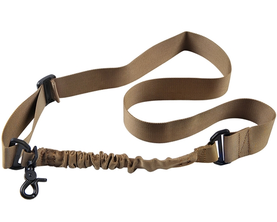 Warrior Rifle Sling - Single Point Bungee - Tan