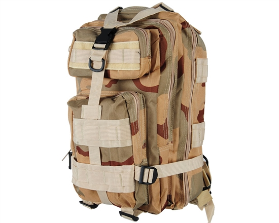 Warrior Tactical Edition Backpack - Desert Camo