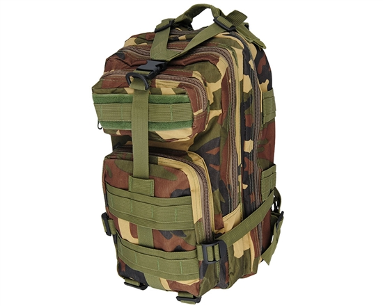 Warrior Tactical Edition Backpack - Woodland Camo