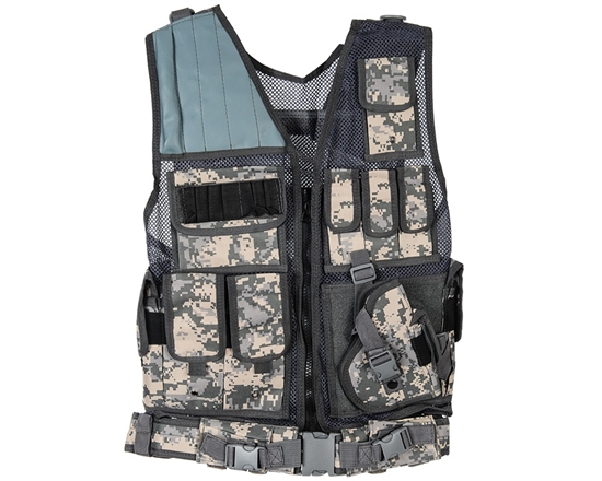 Warrior Tactical Vest - Crossdraw - ACU Digital
