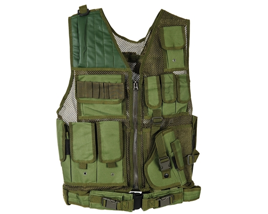 Warrior Tactical Vest - Crossdraw - Olive