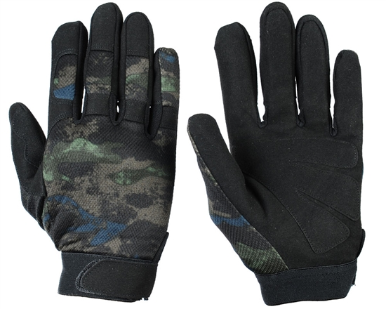 Warrior Airsoft Tournament Gloves - Acid Green