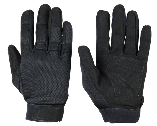 Warrior Airsoft Tournament Gloves - Black