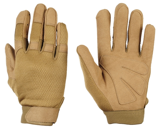 Warrior Airsoft Tournament Gloves - Tan