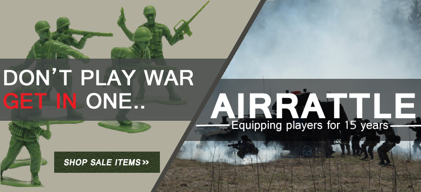 Over 4,000 airsoft products are 30 percent off across our site. Look for the sale image on each items detail page.